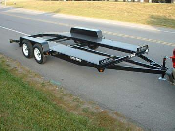 Bri-mar 7' x 16' Open Center Car Hauler