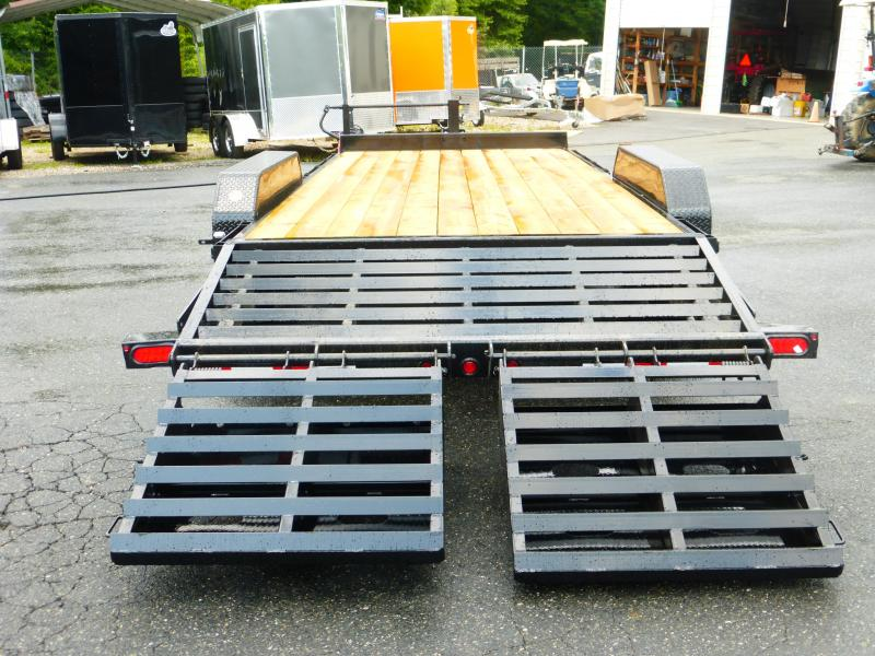Big Tex Trailers 7' x 18' Equipment Trailer 14K