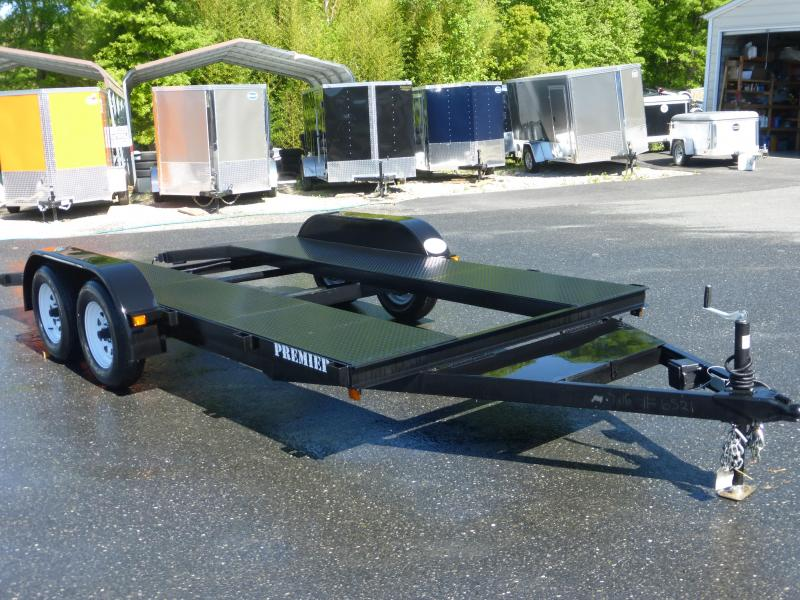 Premier  7' x 18' Open-Center Car Hauler