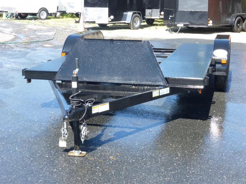 Premier  7' x 18' Open-Center Car Hauler