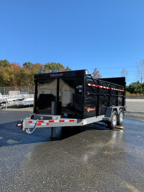 B-Wise 7' x 14' Ultimate Dump Trailer 15K