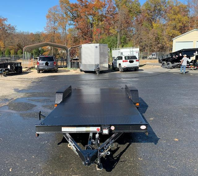 Quality 7' x 18' Steel Deck Car Hauler