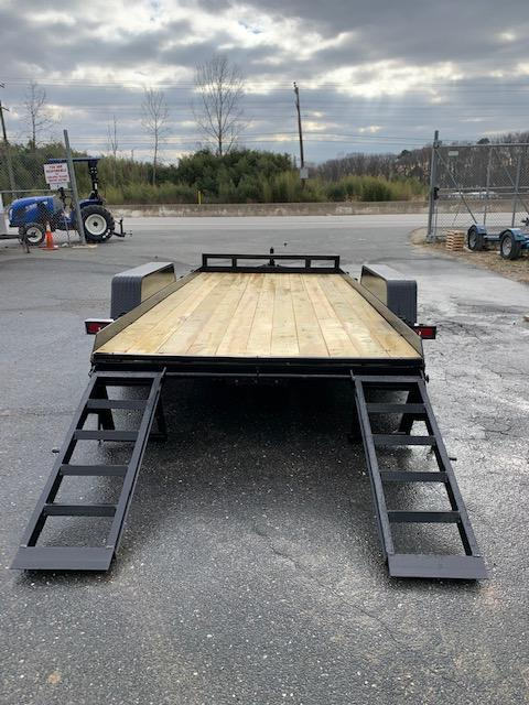 MCT 7' x 16' Wood Floor Equipment Trailer