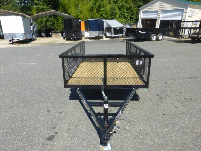 """Carry-On 5' x 10' Utility Trailer w/ 24"""" Mesh Sides"""