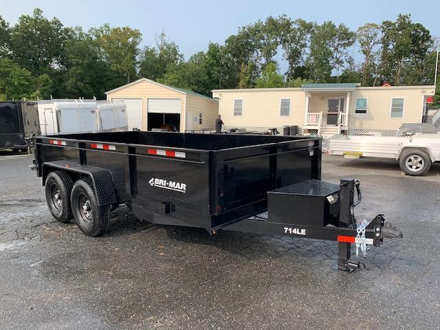 "Bri-Mar 7' x 14' x 20"" Heavy Duty Dump Trailer"