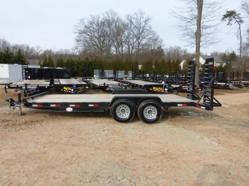 Quality 7' x 16' Equipment Trailer with 2' Dovetail 10K