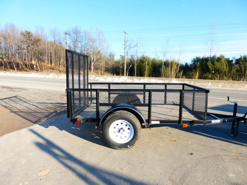 """Carry-On 5' x 8' Utility Trailer w/ 24"""" Mesh"""
