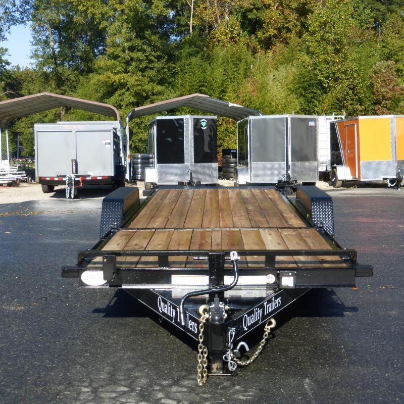 Quality Trailers 7 X 20 Tilt Equipment Trailer 15K