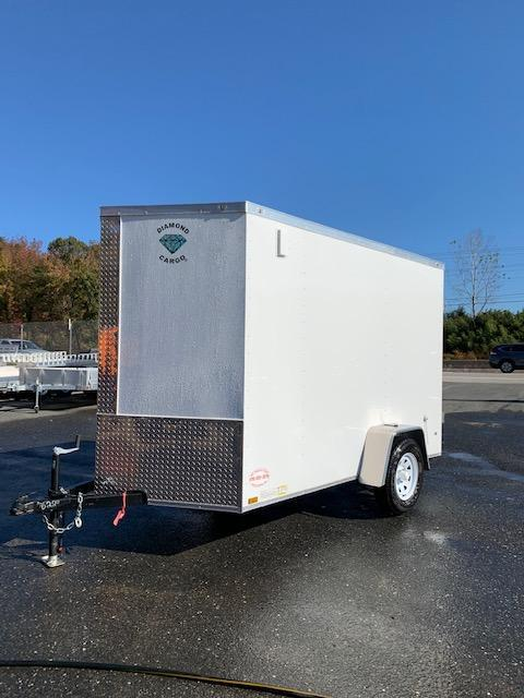 Diamond Cargo 6' x 10' Enclosed Trailer w/ Cargo Doors - 3K