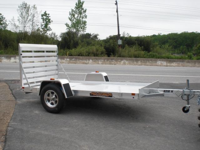 "Aluma 63"" x 10' Aluminum Utility Trailer 3K"