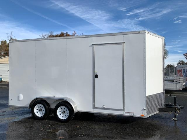Covered Wagon 7x16 Enclosed Cargo Trailer w/ Extra Interior Height