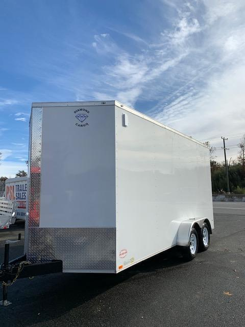 Covered Wagon 7x16 Enclosed Trailer w/ Extra Interior Height