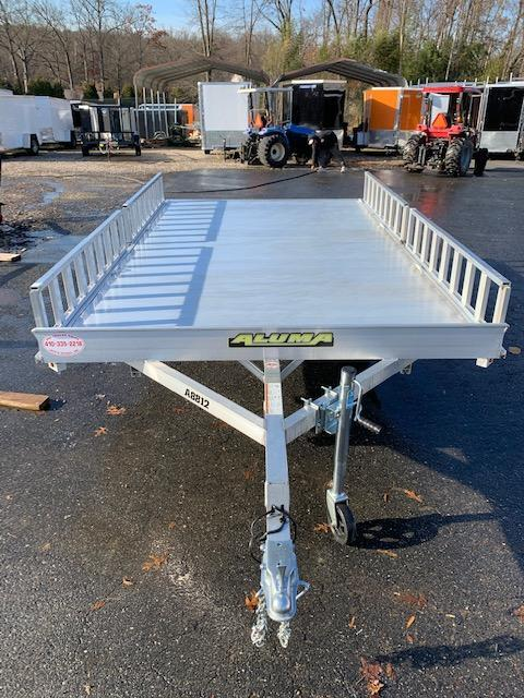 "Aluma 88"" x 154"" 3 Place Aluminum ATV Trailer 3K"