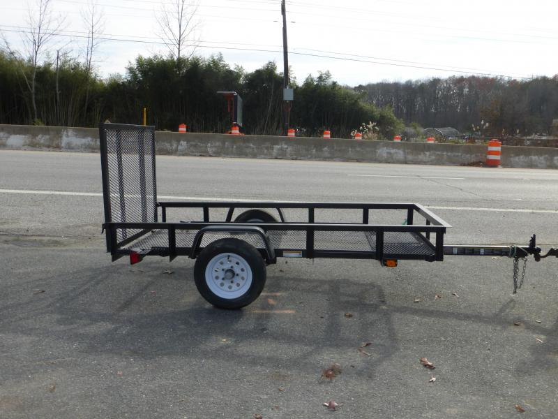 Carry-On 4' x 8' Landscape All Mesh Utility Trailer