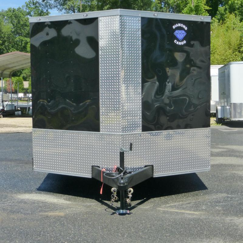 Diamond Cargo 8.5' x 20' Black Enclosed Car Trailer w/ Ramp