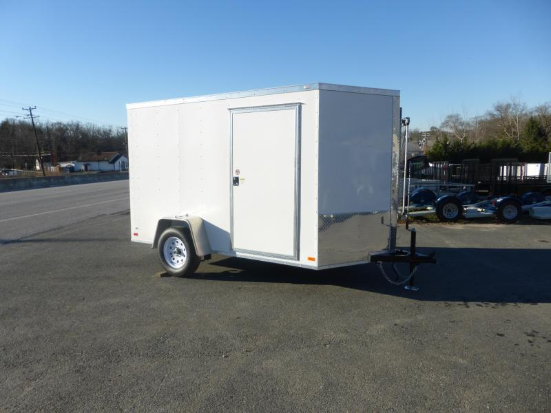 Covered Wagon 6' x 10' Enclosed Cargo Trailer w/Ramp - 3K