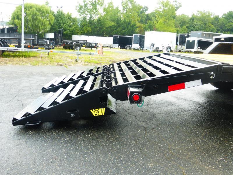Big Tex Trailers 7' x 20' Equipment Trailer w/ mega ramps 14K