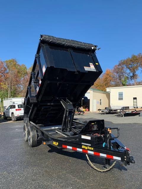 "Big Tex 7' x 14' x 48"" Dump Trailer 14K"