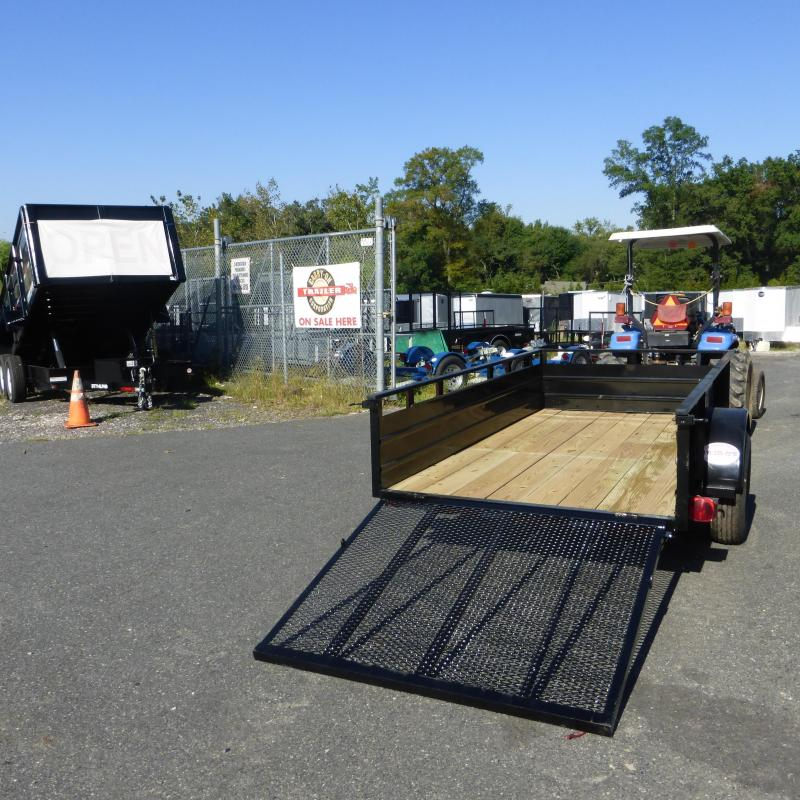 Carry-On 5' x 10' Landscape Utility Trailer w/ Solid Sides