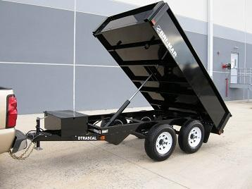 "Bri-Mar 6' x 10' x 20"" Dump Trailer"