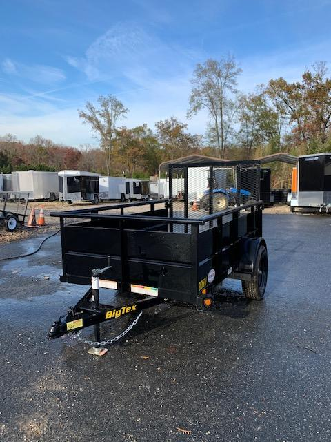 """Big Tex 5' x 8' Utility Trailer with 24"""" Solid Sides"""