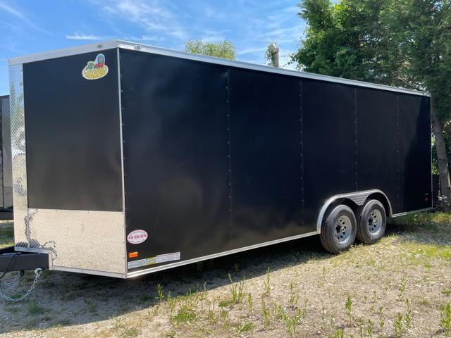 Covered Wagon 8.5' x 20' Enclosed Cargo Trailer