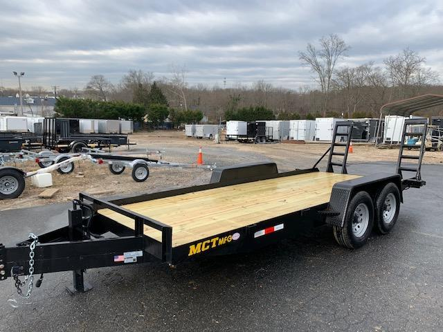 MCT 7' x 18' Equipment Trailer 12K