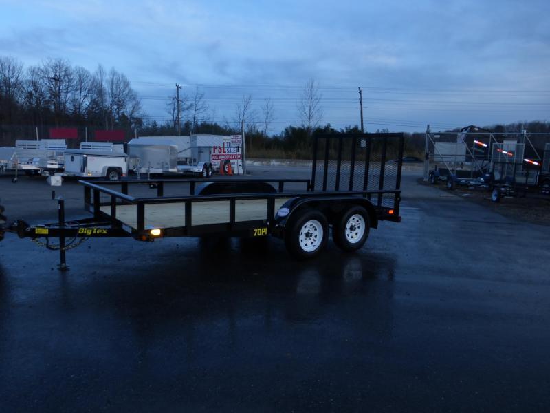 Big Tex 7' x 14' Utility Trailer w/ Spare Tire Mount