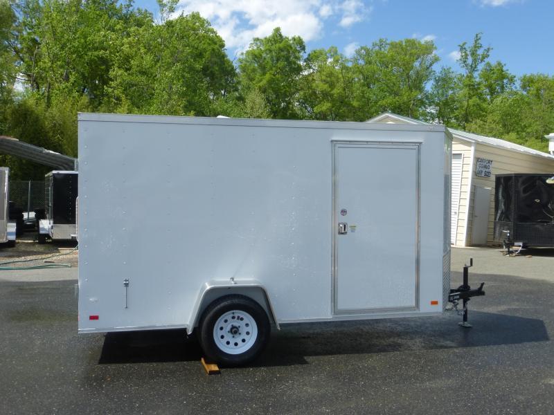 Diamond Cargo 6' x 12' Enclosed Cargo Trailer with Cargo Doors