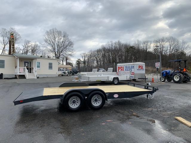 Belmont 7' x 18' 10K Wood Deck Car Hauler Trailer
