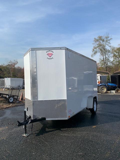 Diamond Cargo 6' x 12' Enclosed Trailer w/ Extra Interior Height