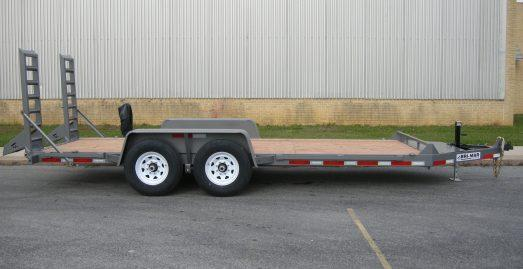 Bri-Mar 7' x 18' Equipment Trailer 12K