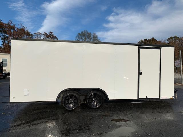 Diamond Cargo 8.5' x 20' White w/ Blackout Pkg Enclosed Trailer