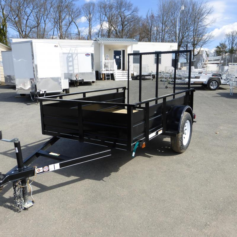 """Carry-On 5' x 8' w/ 21"""" Solid Sides Utility Trailer"""