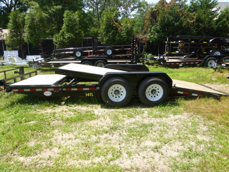 Big Tex 7' x 20' Tilt Equipment Trailer 14K