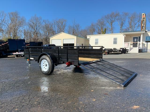 Carry-On 5X10 Solid Sides Utility Trailer