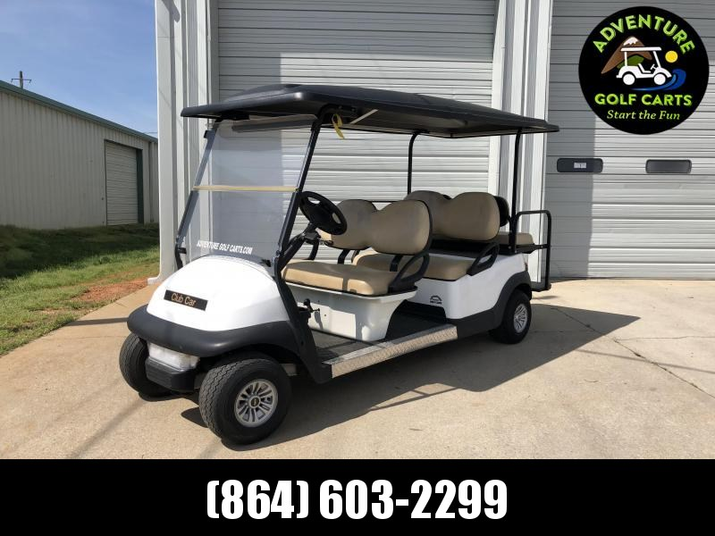 2018 Club Car Precedent Gas Golf Cart - 6 Passenger