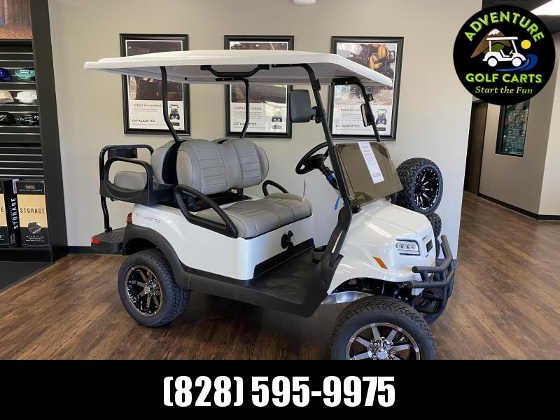 2021 Club Car Onward Lifted Gas Golf Cart
