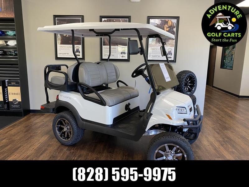 2021 Club Car Onward Lifted Gas Golf Cart