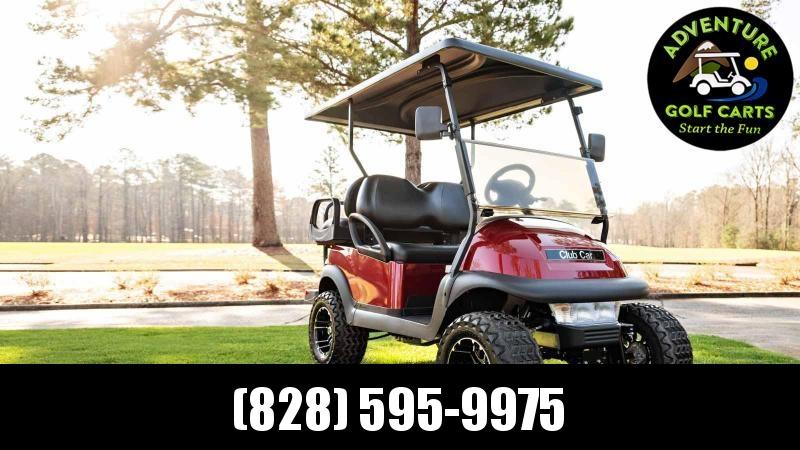 2021 Club Car V-4 Lifted Electric Golf Cart - 4 Passenger