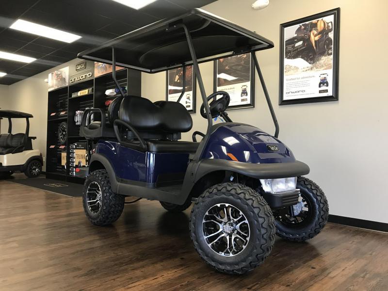 2021 Club Car V4L Electric Lifted 4-Passenger Golf Cart
