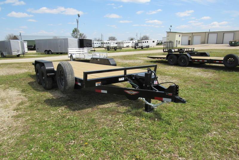 2020 H and H Trailer 82 X 20' EX Speedloader TA BP Equipment Trailer