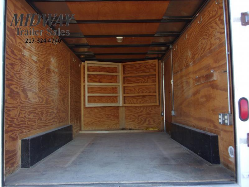 2007 Cargo Express 7 X 12 BP Enclosed Cargo Trailer
