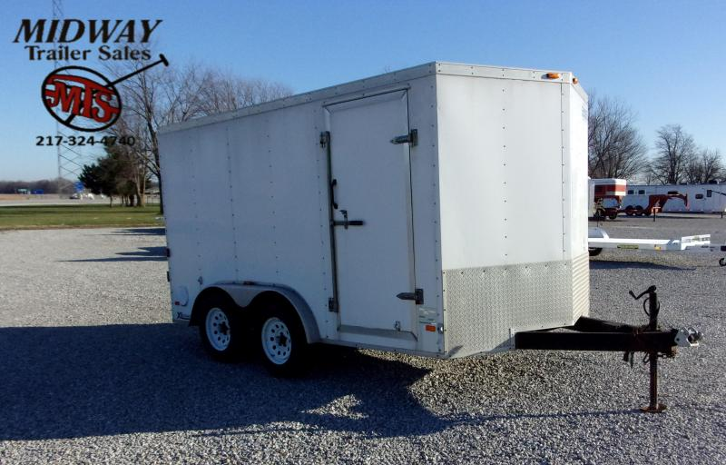 2007 Cargo Express 7 X 12 BP Enclosed Cargo Trailer
