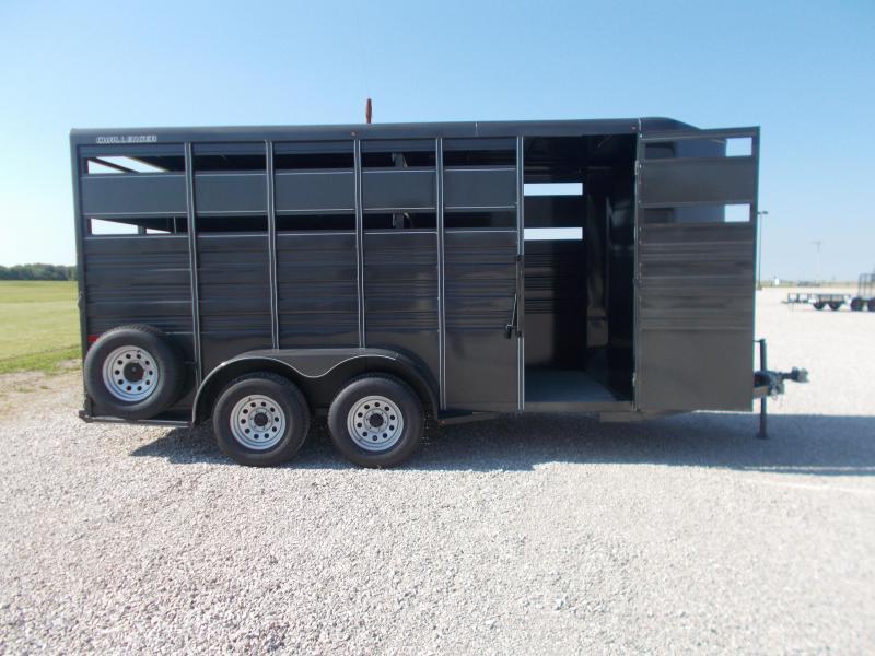 2021 Titan Trailers 6'8 X 16' Challenger Stock BP Horse Trailer