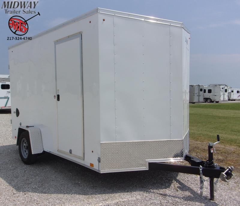 2021 Look Trailers ST DLX 7 X 12' SA BP Enclosed Cargo Trailer