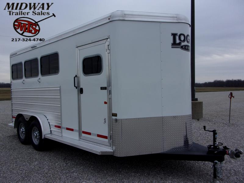 2021 Logan Coach 3H Riot w/ Dress BP Horse Trailer
