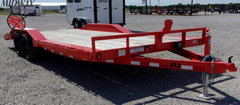 "2020 PJ Trailers 102 X 20' (18+2) 5"" CH Buggy Hauler TA BP Equipment Trailer"