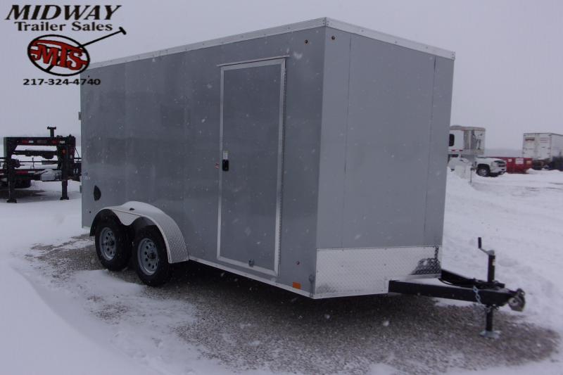 2021 Look Trailers ST DLX 7 X 14' TA BP Enclosed Cargo Trailer