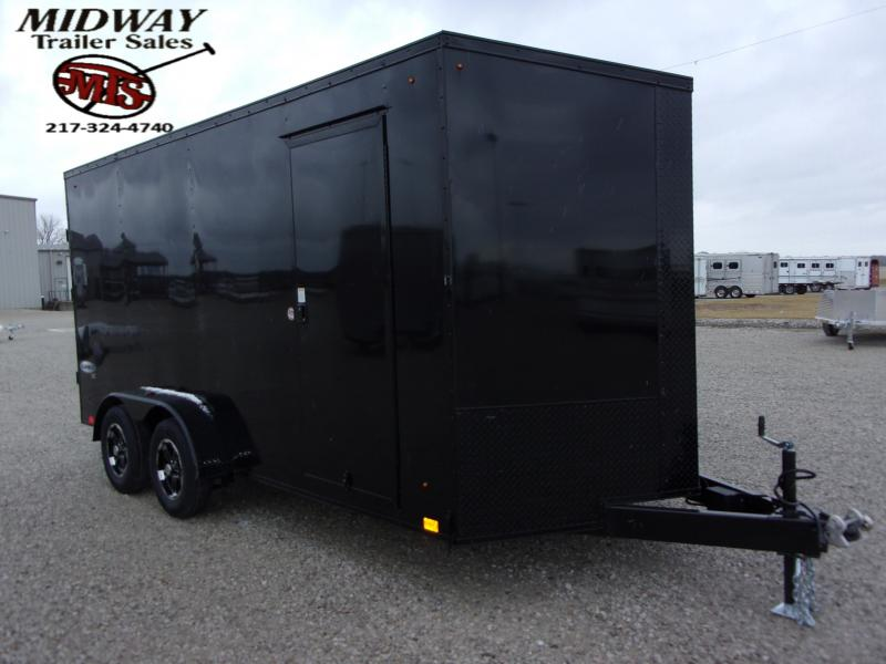 2021 Look Trailers Element SE 7X16' TA BP Enclosed Cargo Trailer
